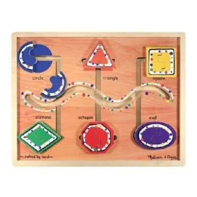 Geometric Shapes - Maze By Melissa & Doug