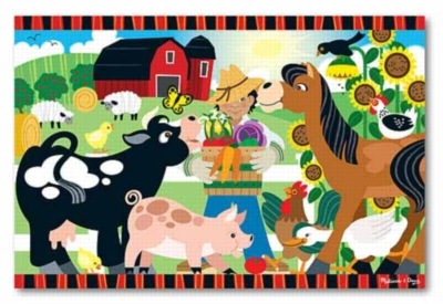 Melissa and Doug Floor Puzzles - Happy Harvest Farm