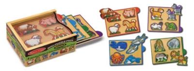 Children's Puzzles - Animals