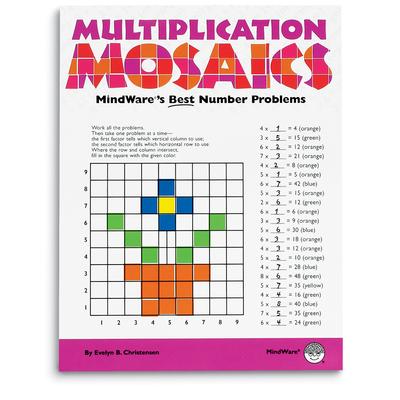 Puzzle Books - Multiplication Mosaics