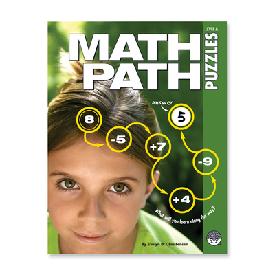 Math Paths Level A - Puzzle Book By Mindware