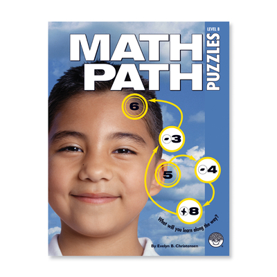 Math Paths Level B - Puzzle Book By Mindware