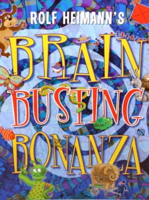 Brain Busting Bonanza - Puzzle Book By Mindware