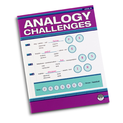 Puzzle Books - Analogy Challengers Level B