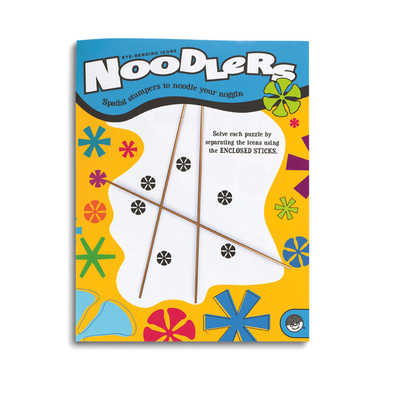 Noodlers Eye-Bending Icons - Puzzle Book By Mindware