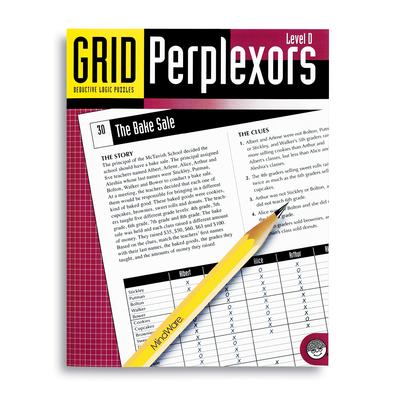 Puzzle Books - Grid Perplexors Level D
