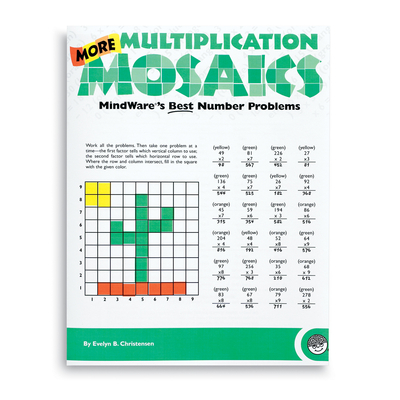 Puzzle Books - More Multiplication Mosaics
