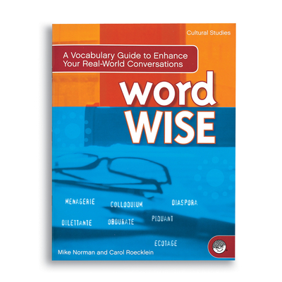 Word Wise: Cultural Studies - Puzzle Book By Mindware