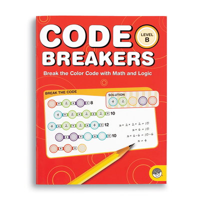 Code Breakers Level B - Puzzle Book By Mindware