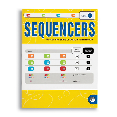 Sequencers Level A - Puzzle Book By Mindware