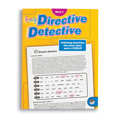 Directive Detective Book 1 - Puzzle Book By Mindware