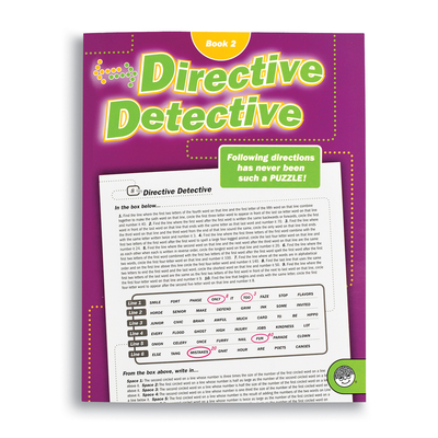 Directive Detective Book 2 - Puzzle Book By Mindware