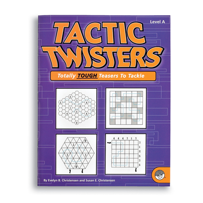 Tactic Twisters Level A - Puzzle Book By Mindware