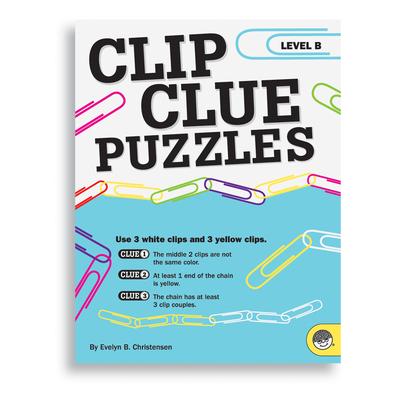 Puzzle Books - Clip Clue Puzzles Level B
