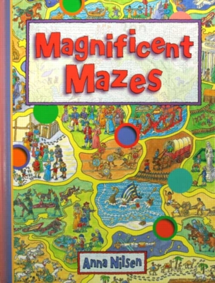 Magnificent Mazes - Puzzle Book By Mindware