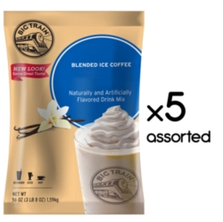 Big Train Blended Ice Coffee - 3.5 lb. Bulk Bag Assorted Case