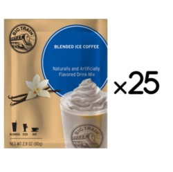 Big Train Blended Ice Coffee -  Single Serve Packet Case (25)