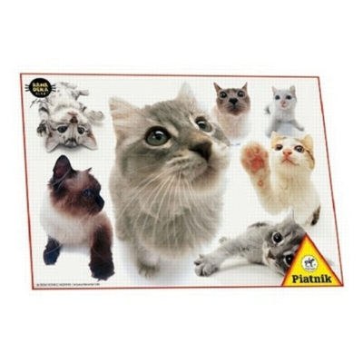 Hanadeka: Cats - 100pc Jigsaw Puzzle by Piatnik