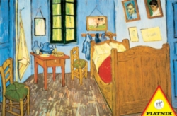 Hard Jigsaw Puzzles - Van Gogh: Bedroom at Arles