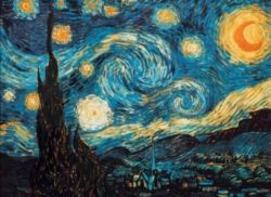 Hard Jigsaw Puzzles - Van Gogh: Starry Night