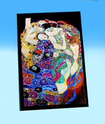 Klimt: Virgin - 1000pc Metallic Jigsaw Puzzle by Piatnik