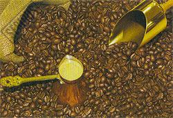 Coffee - 1000pc Tough Jigsaw Puzzle by Piatnik