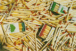 Matches - 1000pc Tough Jigsaw Puzzle by Piatnik