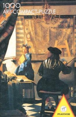 Hard Jigsaw Puzzles - Vermeer: Artist's Studio