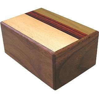 5 Sun, 7 Step: Natural Wood - Japanese Puzzle Box