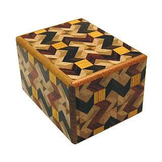 2 Sun, 7 Step: Mawariyabane - Japanese Puzzle Box