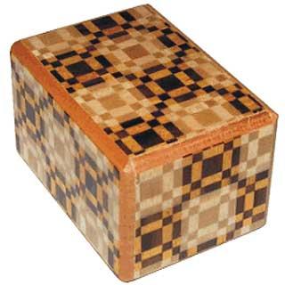 1 Mame, 14 Step: Kawari Ichimatsu - Japanese Puzzle Box