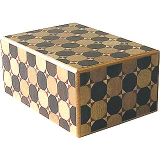 4 Sun, 4 Step: Kagome - Japanese Puzzle Box
