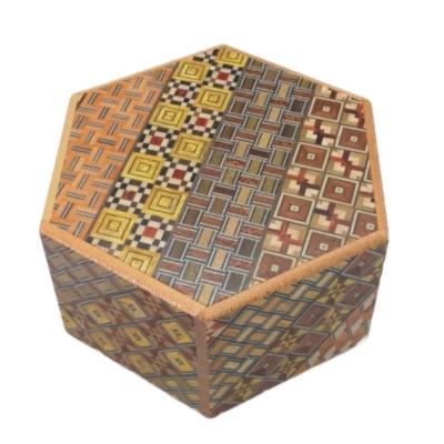 Hexagon, 6 Step: Koyosegi - Japanese Puzzle Box