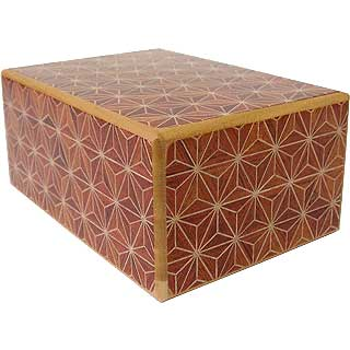 4 Sun, 4 Step: Akaasa- Japanese Puzzle Box