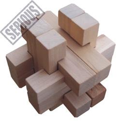 Burr Puzzle - Star Box