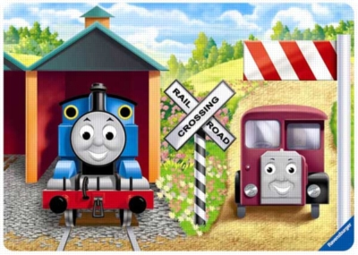Thomas & Friends: Shapes of Sodor - 5pc Wooden Jigsaw Puzzle by Ravensburger