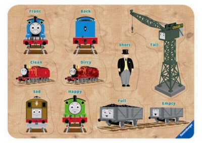 Thomas & Friends: Opposites of Sodor - 10pc Wooden Puzzle by Ravensburger
