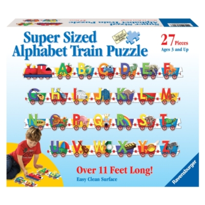 Alphabet Train - 27pc Floor Puzzle by Ravensburger