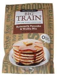 Big Train Low Carb Pancake & Waffle Mix - 9 oz. Bag Case