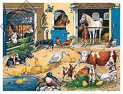 Farm Life - 24pc Floor Puzzle by Ravensburger