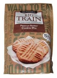 Big Train Low Carb Peanut Butter Cookie Mix - 10.3 oz. Bag Case