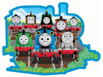 Sodor Friends - 24pc Shaped Floor Puzzle by Ravensburger