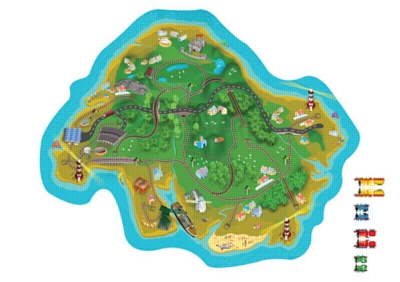 Thomas & Friends: The Island of Sodor - 20pc Jigsaw Puzzle by Ravensburger