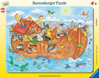 Noah's Ark - 48pc Puzzle in a Frame by Ravensburger