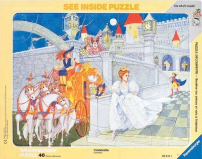 Cinderella - 40pc Frame Puzzle by Ravensburger