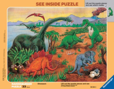Dinosaur Frame Puzzle