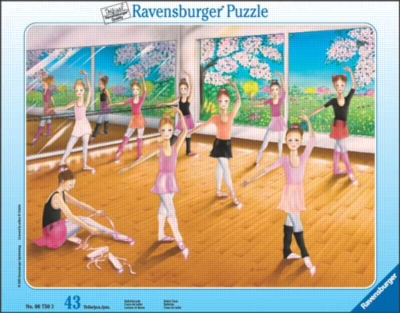 Ballet Class - 43pc Frame Puzzle by Ravensburger