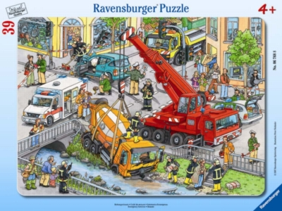 Emergency Services - 39pc Puzzle in a Frame by Ravensburger