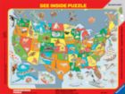 USA States & Capitals - 63pc Ravensburger Frame Puzzle by Ravensburger