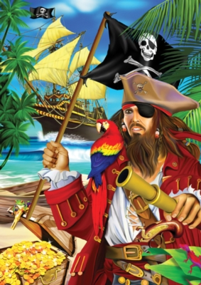 Pirate Booty - 35pc Jigsaw Puzzle by Ravensburger